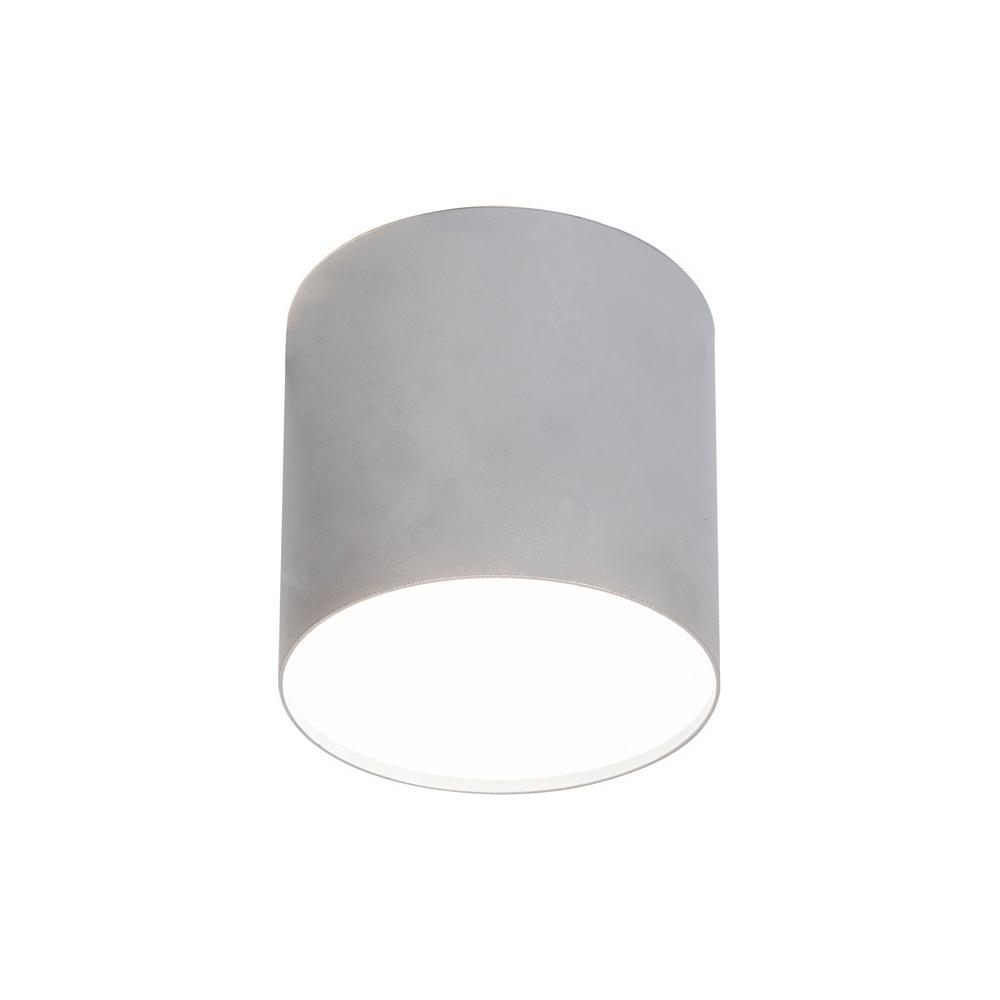 Потолочный светильник Nowodvorski Point Plexi 6527, 1xGU10x35W, белый, серебро, металл, пластик - фото 1