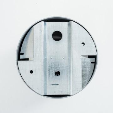 Потолочный светильник Nowodvorski Point Plexi 6527, 1xGU10x35W, белый, серебро, металл, пластик - миниатюра 4