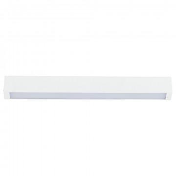 Потолочный светильник Nowodvorski Straight 9620, 1xG13T8x10W, белый, металл, стекло