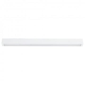 Потолочный светильник Nowodvorski Straight 9621, 1xG13T8x14W, белый, металл, стекло
