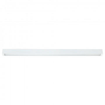 Потолочный светильник Nowodvorski Straight 9622, 1xG13T8x18W, белый, металл, стекло