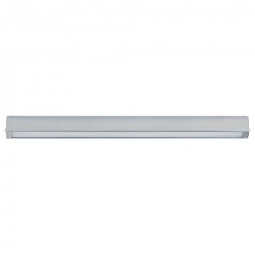 Потолочный светильник Nowodvorski Straight 9624, 1xG13T8x14W, серебро, металл, стекло