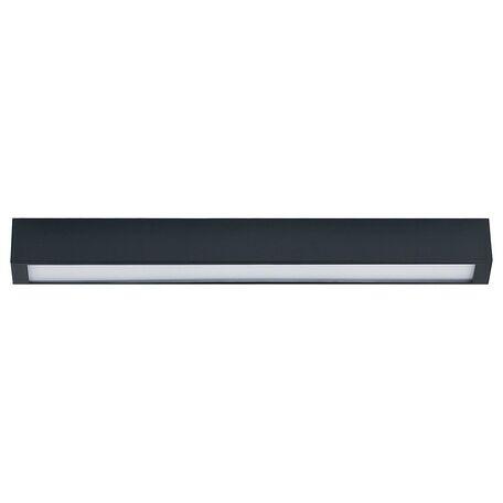 Потолочный светильник Nowodvorski Straight 9626, 1xG13T8x10W, серый, металл со стеклом, стекло - миниатюра 1