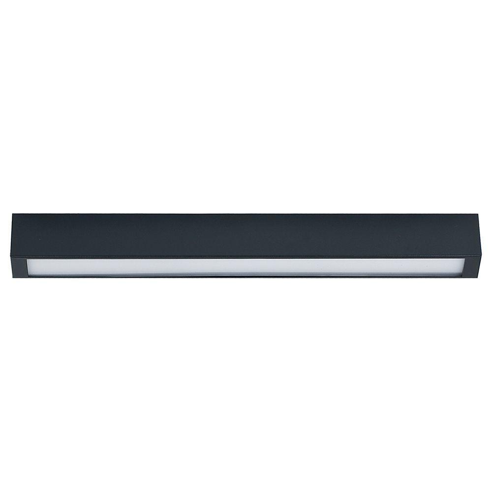 Потолочный светильник Nowodvorski Straight 9626, 1xG13T8x10W, серый, металл со стеклом, стекло - фото 1