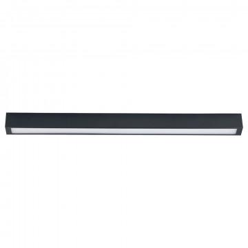 Потолочный светильник Nowodvorski Straight 9627, 1xG13T8x14W, серый, металл, стекло