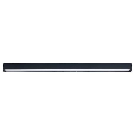 Потолочный светильник Nowodvorski Straight 9628, 1xG13T8x18W, серый, металл, стекло