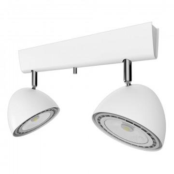 Потолочный светильник Nowodvorski Vespa 9593, 2xGU10x75W, белый, металл