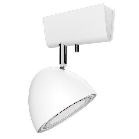 Потолочный светильник Nowodvorski Vespa 9594, 1xGU10x75W, белый, металл - миниатюра 1