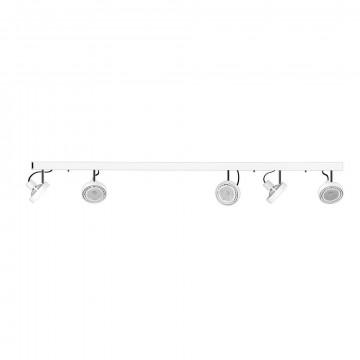 Потолочный светильник Nowodvorski Cross 9604, 5xGU10x75W, белый, металл
