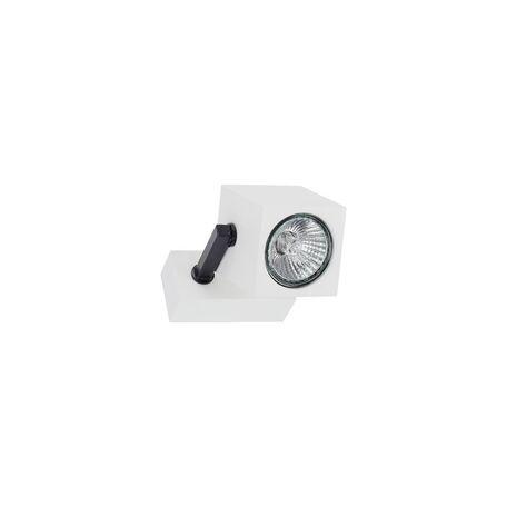 Потолочный светильник с регулировкой направления света Nowodvorski Cuboid 6522, 1xGU10x35W, белый, черный, металл