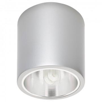 Потолочный светильник Nowodvorski Downlight 4867, 1xE27x25W, серебро, металл