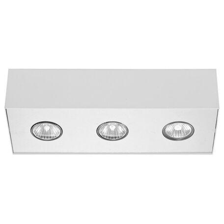 Потолочный светильник Nowodvorski Carson 5575, 3xGU10x50W, белый, металл - миниатюра 1