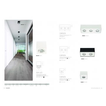 Потолочный светодиодный светильник Nowodvorski Box LED 6422, LED 7W, белый, дерево, металл - миниатюра 2