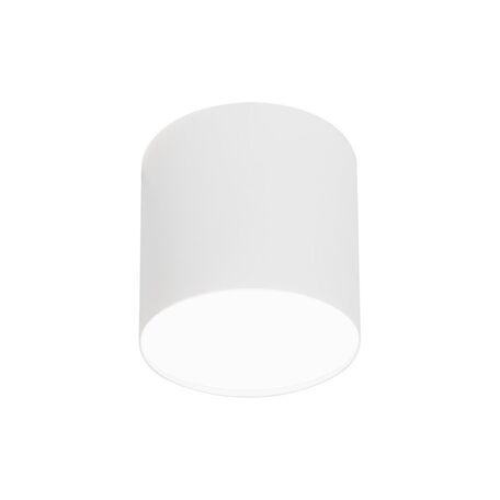 Потолочный светильник Nowodvorski Point Plexi 6525, 1xGU10x35W, белый, металл, пластик
