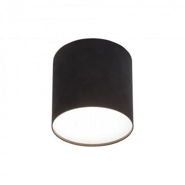 Потолочный светильник Nowodvorski Point Plexi 6526, 1xGU10x35W, белый, черный, металл, пластик