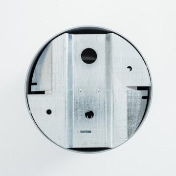 Потолочный светильник Nowodvorski Point Plexi 6527, 1xGU10x35W, белый с серебром, металл, пластик - миниатюра 2