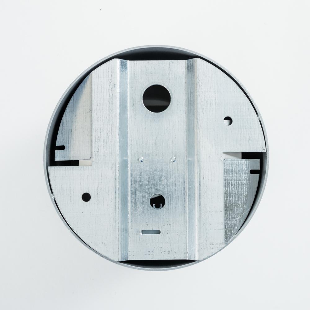 Потолочный светильник Nowodvorski Point Plexi 6527, 1xGU10x35W, белый с серебром, металл, пластик - фото 2