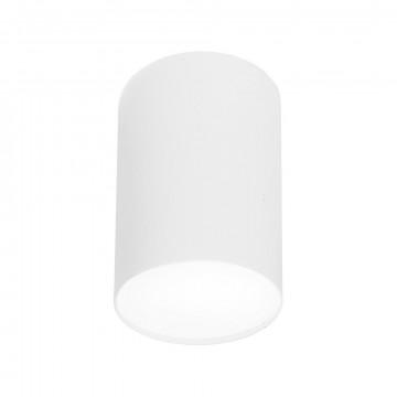 Потолочный светильник Nowodvorski Point Plexi 6528, 1xE27x20W, белый, металл, пластик