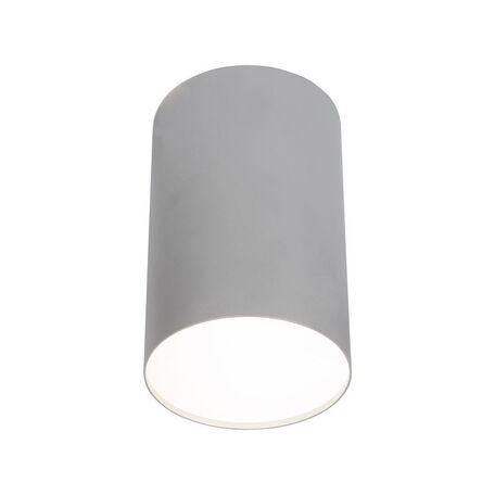 Потолочный светильник Nowodvorski Point Plexi 6531, 1xE27x20W, белый с серебром, металл, пластик