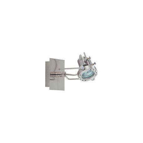 Потолочный светильник с регулировкой направления света Nowodvorski Robot 860, 1xGU10x50W, сталь, металл - миниатюра 1