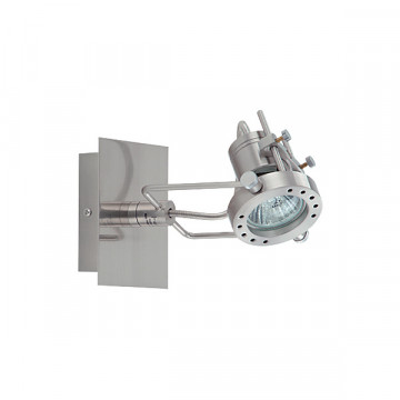 Потолочный светильник с регулировкой направления света Nowodvorski Robot 860, 1xGU10x50W, сталь, металл - миниатюра 2
