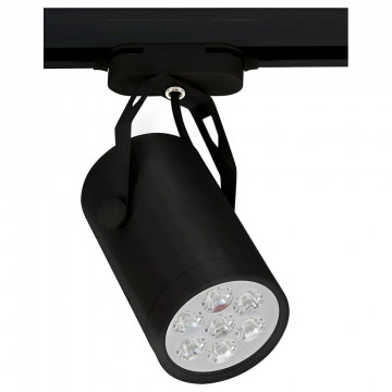 Светодиодный светильник с регулировкой направления света для шинной системы Nowodvorski Store LED 6825, LED 7W 4000K 630~700lm, черный, металл