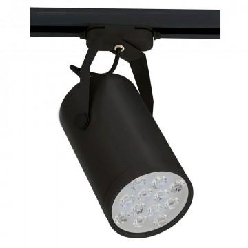 Светодиодный светильник с регулировкой направления света для шинной системы Nowodvorski Store LED 6826, LED 12W 4000K 1080~1200lm, черный, металл