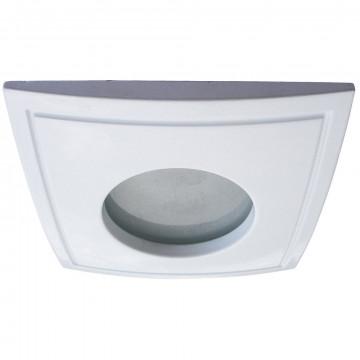 Встраиваемый светильник Arte Lamp Aqua A5444PL-3WH, IP44, 1xGU10x50W, белый, металл, стекло