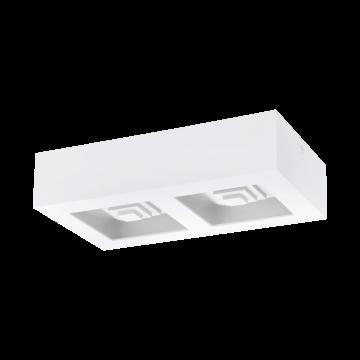 Потолочный светодиодный светильник Eglo Ferreros 96792, 3000K (теплый), белый, металл, пластик