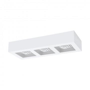 Потолочный светодиодный светильник Eglo Ferreros 96793, LED 18,9W 3000K 2520lm, белый, металл, пластик