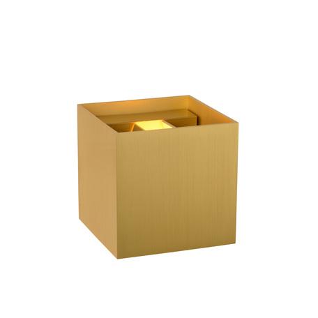 Настенный светильник Lucide Xio 09217/04/02, 1xG9x3,5W, матовое золото, металл