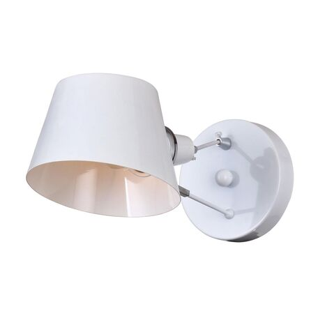 Бра Favourite Eimer 1513-1W, 1xE14x40W, белый, металл