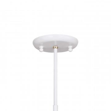 Люстра на телескопической штанге Favourite Humpen 1758-6P, 6xE14x40W, белый, золото, металл - миниатюра 4