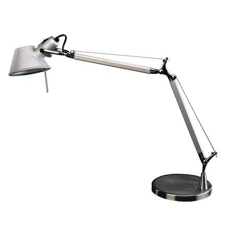 Настольная лампа Favourite Legend 1869-1T, 1xE27x60W, серебро, металл