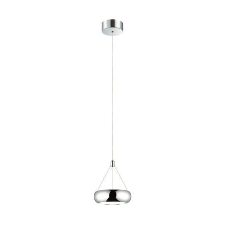 Подвесной светодиодный светильник Favourite Teller 1700-1P, LED 6W 4000K, хром, металл
