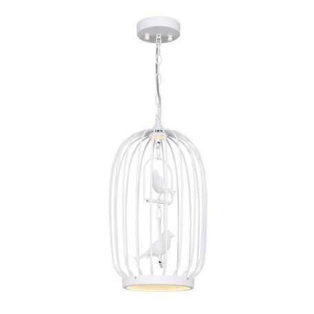 Подвесной светодиодный светильник Favourite Chick 1929-2P, LED 17W 3500K + 4000K, белый, металл, металл с пластиком, пластик
