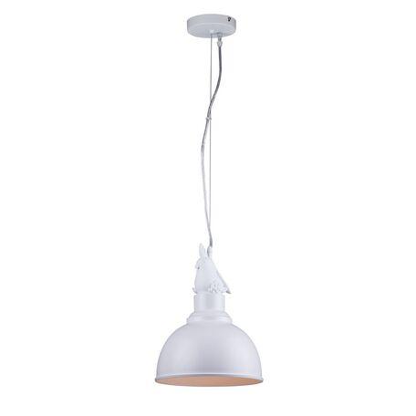 Подвесной светильник Favourite Parrot 1934-1P, 1xE27x40W, белый, металл - миниатюра 1