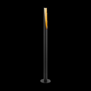 Торшер Eglo Barbotto 97584, 1xGU10x5W, черный, металл