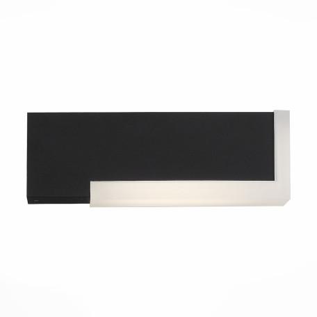 Настенный светодиодный светильник ST Luce Posto SL096.401.02, IP54, LED 4W 4000K, черный, металл