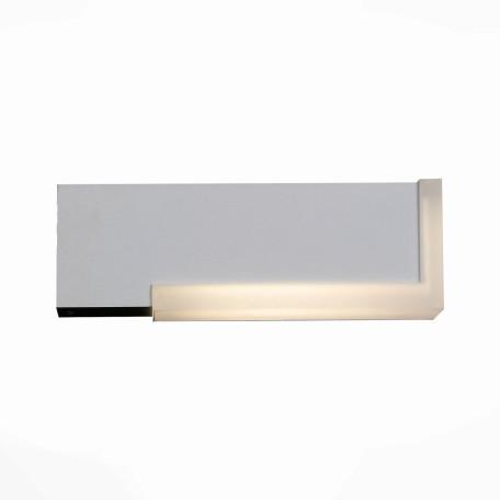 Настенный светодиодный светильник ST Luce Posto SL096.501.02, IP54, LED 4W 4000K, белый, металл