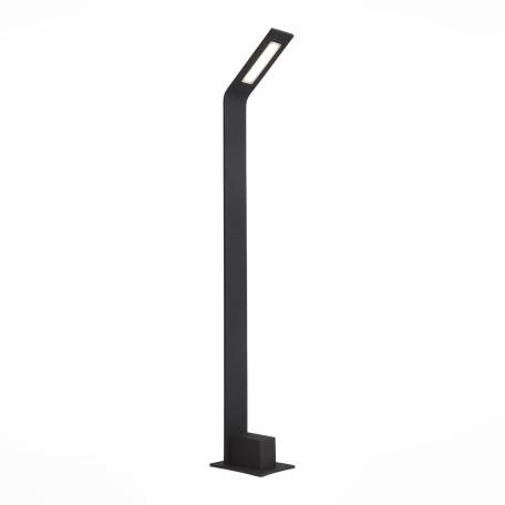 Садово-парковый светодиодный светильник ST Luce Ansa SL094.445.01, IP65, LED 4W 4000K, черный, металл