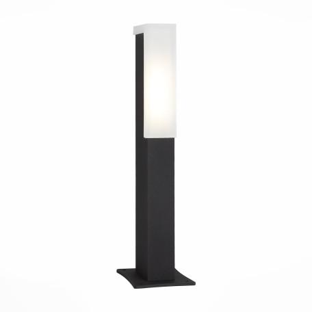 Садово-парковый светодиодный светильник ST Luce Posto SL096.405.02, IP65, LED 4W 4000K, черный, белый, металл, пластик