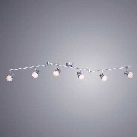 Arte Lamp Cuffia A5621PL-6CC, LED 30W, 3000K (теплый), хром, белый