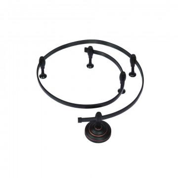 Гибкий токопровод в сборе с комплектующими Arte Lamp Instyle A520006, черный, металл