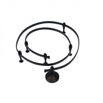 Гибкий токопровод Arte Lamp Instyle A530006, черный, металл
