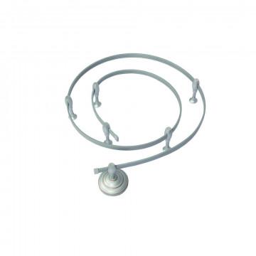 Гибкий токопровод в сборе с комплектующими Arte Lamp Instyle A530027, серебро, металл