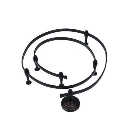Гибкий токопровод в сборе с комплектующими Arte Lamp Instyle A530006, черный, металл