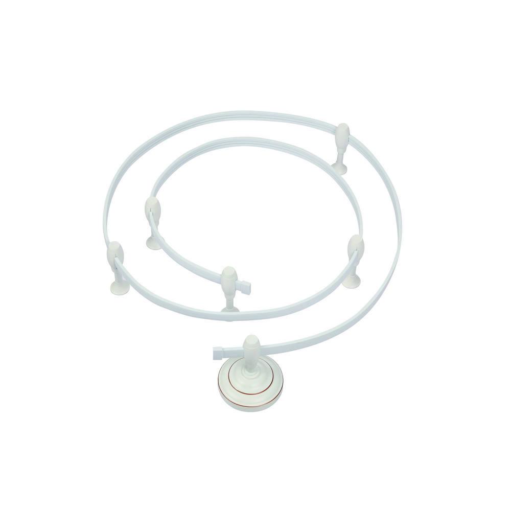 Гибкий токопровод в сборе с комплектующими Arte Lamp Instyle A530033, белый, металл - фото 1