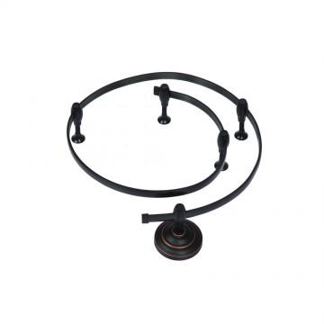 Гибкий токопровод Arte Lamp Instyle A520006, черный, металл