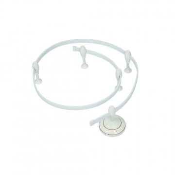 Гибкий токопровод Arte Lamp Instyle A520033, белый, металл